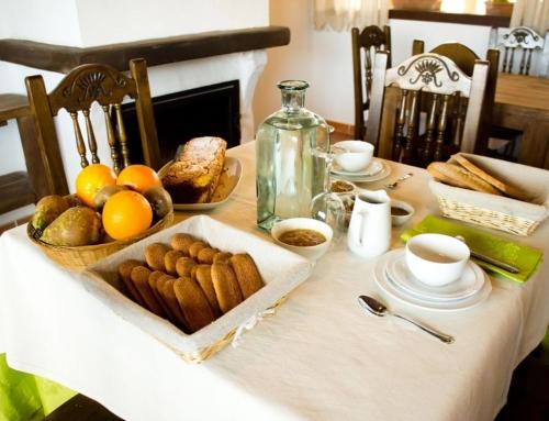 El desayuno saludable de la granja El Enebral